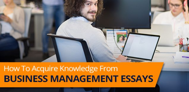 How To Get Information From Business Management Essay